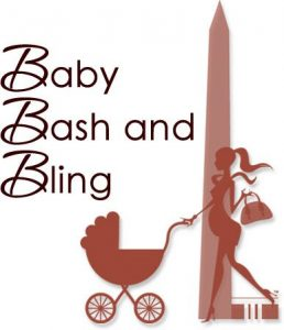 Logo for Baby Bash and Bling Expo in DC